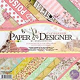 #6: Asian Hobby Crafts Paper Designer Theme - Reminiscence,40 patterned papers(8