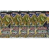 YuGiOh Dragons of Legend Unleashed - 5 Booster Packungen - 1. Auflage Deutsche Ausgabe