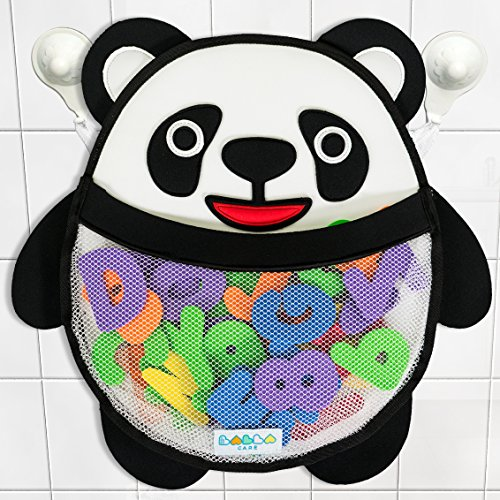 percy-panda-bath-toy-storage-organiser-for-boys-and-girls-comes-with-2x-strong-hold-suction-cups-fre
