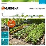 Gardena Start Set Pflanzflächen: Micro-Drip-Gartenbewässerungssystem zur individuellen, flexiblen Bewässerung von Blumen…