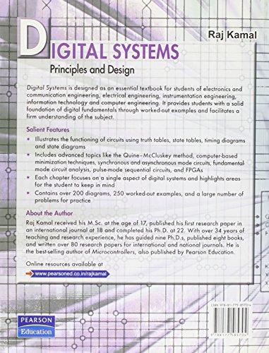 Digital Systems: Principles and Design, 1e