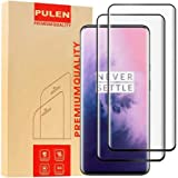 OnePlus 7 Pro Screen Protector (2 packs) HD 3D Full Coverage, Anti-Scratch][Bubble Free, 9H Hardness Tempered Glass