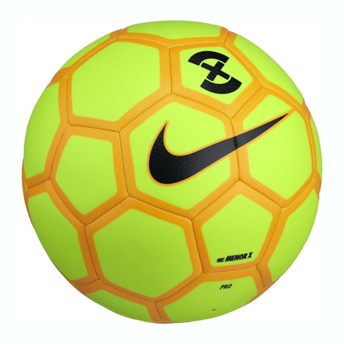 Nike NK minore X Pallone, Unisex adulto, Unisex adulto, NK MENOR X, verde/arancione/nero (volt/laser