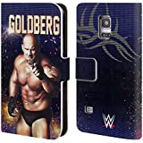 Official WWE Goldberg Superstars Leather Book Wallet Case Cover For Samsung Galaxy S5 mini