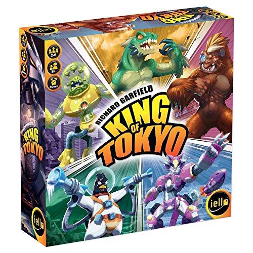 Iello King of Tokyo Niños y Adultos Juego de táctica - Juego de Tablero (Juego de táctica, Niños y Adultos, 30 min, Niño/niña, 8 año(s), 66 Pieza(s))