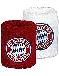 Schweißbänder mit FC Bayern Design, 2er-Pack