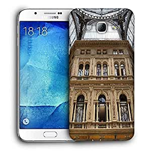 Snoogg Abstract Golden Building Printed Protective Phone Back Case Cover for Samsung Galaxy Note 5