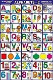 25 X Pré - Scolaires Enfants Alphabets Apprentissage - 2 Éducatif Autocollant De Papier Picturale