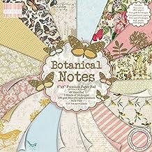 First Edition 8x 8Botanical Notas papeles