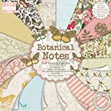 """First Edition Botanical Notes Premium Paper Pad 8""""x8"""" 48 Sheets (FSC)"""