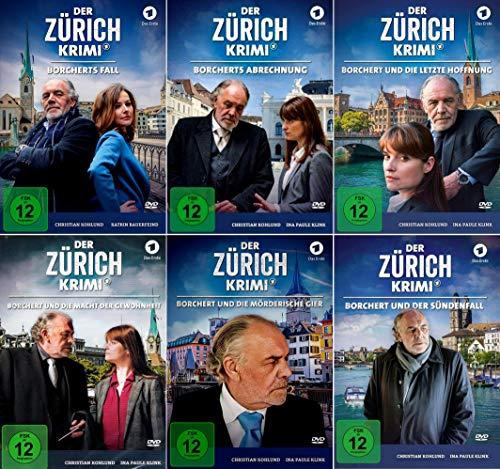 Der Zürich Krimi (Folge 1 - 6) Borcherts Fall + Abrechnung + Letzte Hoffnung + Macht der Gewohnheit + Mörderische Gier + Und der Sündenfall