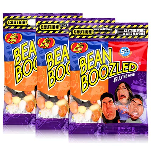 Jelly Belly Bean Boozled Jelly Beans 54g Beutel 3rd Edition (3er Pack)