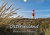 OSTFRIESLAND Strand und Mee(h)r (Wandkalender 2018 DIN A4 quer): 12 stimmungsvolle Landschaftsaufnahmen aus Ostfriesland (Monatskalender, 14 Seiten ) ... [Kalender] [Apr 04, 2017] Dreegmeyer, Andrea