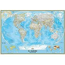 El Mundo Classic pequeño (100x70) castellano. 1:42.680.000. National Geographic.