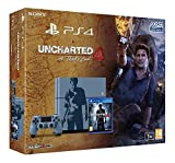 Console PlayStation 4 1 To + Uncharted 4: A Thief's End - Édition Limitée [Importación Francesa]