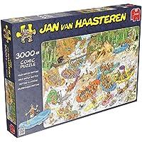 Jumbo Games Jan Van Haasteren Wild Water Rafting Jigsaw Puzzle (3000-Piece)