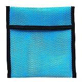 MagiDeal Bleitaschen Tauchgewichte Tasche Netztasche Mesh Bag zum Tauchen - 2 KG