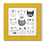 PAW Servietten 33x33 cm 20St. Funny Cats 5906360754582
