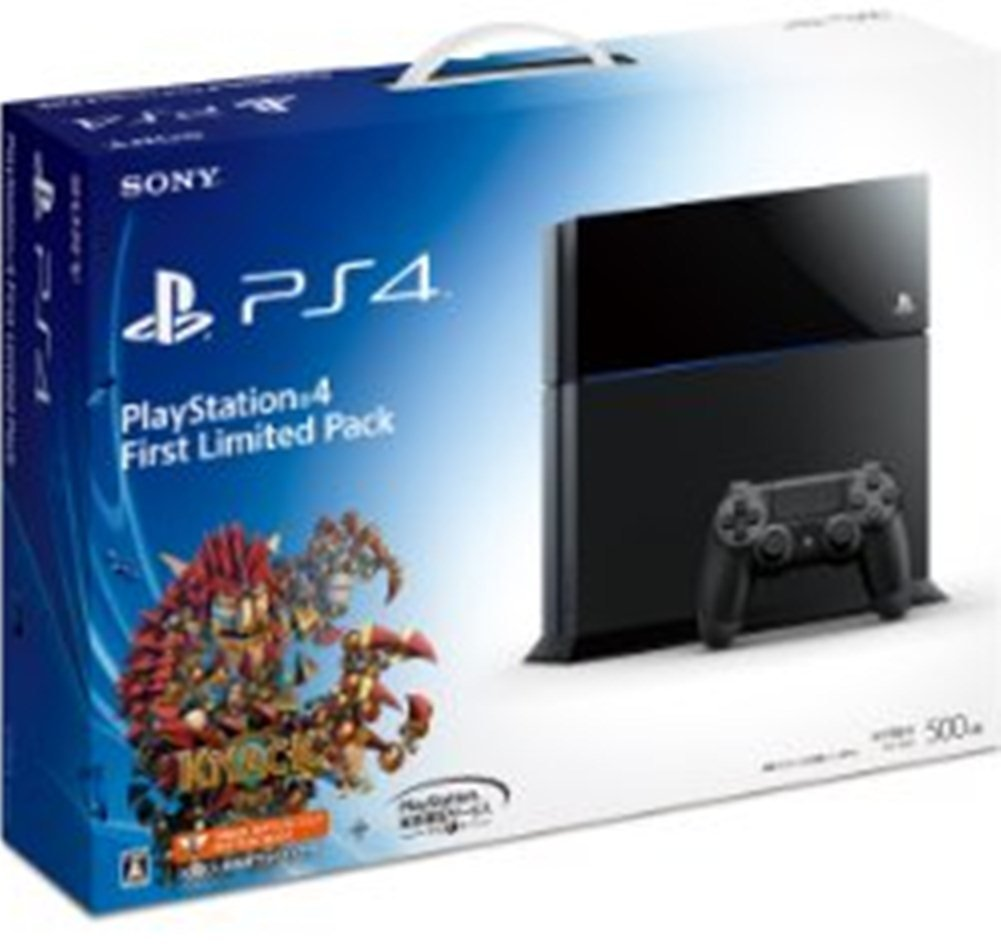 Playstation 4 First Limited Pack (?????????4????? KNACK ??????? ???????? ??)