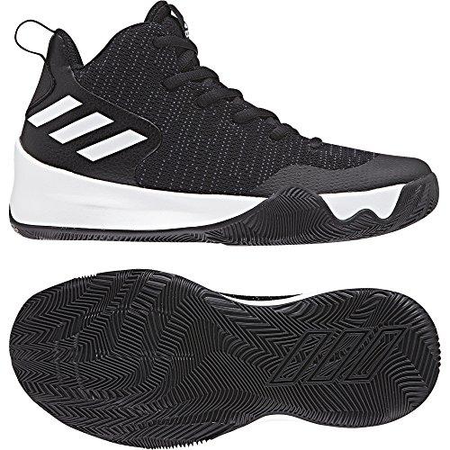 adidas Explosive Flash K Basketball-Schuhe-Kinder - cblack/carbon/ftwwht, Größe #:35