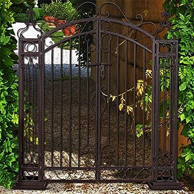 Gartenpforte - Garten Tor - Metalltor Garten - Gartentor romantisch - Flügeltor von TW24 bei Du und dein Garten
