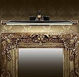 Specchietto frontale Specchio di bronzo americano del faro del faro della tabella di preparazione della stanza da bagno della stanza da bagno della stanza da bagno europea ha condotto le luci del mobile dello specchio lampada a muro ( dimensioni : 22cm*58cm )