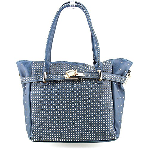 melie-bianco-miranda-damen-blau-schultertaschen
