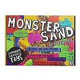 Arena Magica Stomping Ground Toys | Arena Cinética | Juego de Cajas de 10 Piezas Monster Sand