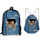 "Best A-type Z3 Cases - Kids Cute Cat Print ""Lunch Bag, Pencil Case Review"