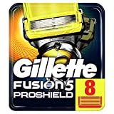 Gillette Fusion ProShield Rasierklingen für Männer, Briefkastenfähige Verpackung, 8 Stück