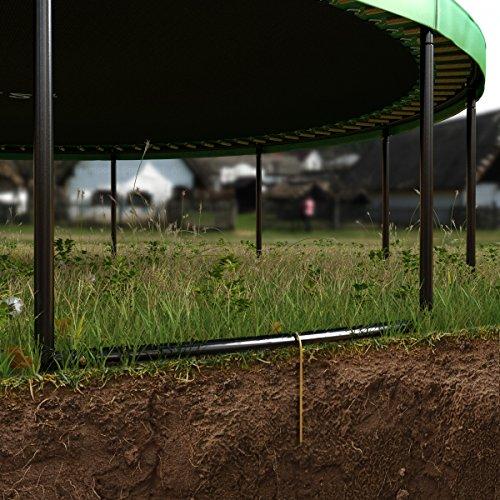 Ampel 24 Sicherungsset | 6 Erdanker zur Sicherung bei Wind | Bodenanker mit Haken -