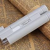 soxid (TM) lupas de aumento 100x Lupa Microscopio Lupa iluminante lupa lente gafas de lupa de lectura con LED luces escala