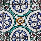 Orientalische Keramik Fliesen handbemalte marokkanische Motiv Fliese Hafsa 10 x 10 cm