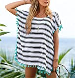 Isuper Vestidos de Playa Traje Ropa de Baño para Mujeres Chulísimo Hippies Mediotransparente