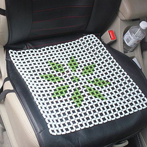 Chytaii Auto Einzelsitzbezüge Sommer Auto Sitzkissen KFZ Autositz Kühlmatte aus Perlen mit lucky Star Bild für Autositz
