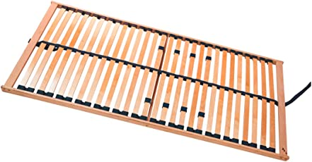moebel-eins RUBIN 5-Zonen Lattenrost NV, stabile Birke, TÜV zertifiziert