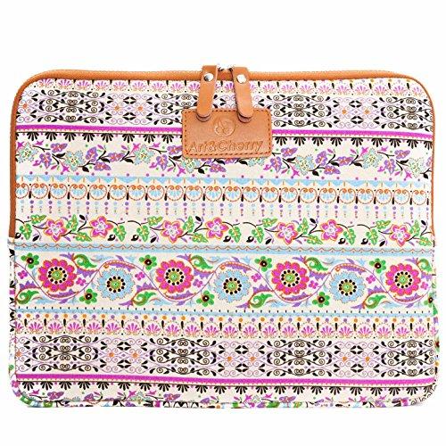 tzhülle mobiles Schutzcase Tasche Hülle Sleeve Tragehülle für Tablet Tablet-PC (7 Zoll) 21 x 16 cm/Motiv: rosa Muster ()