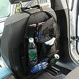 Auto asiento de atrás ordenado auto bolsa de almacenamiento Organizador de viajes, asiento de coche funda protectora a prueba de polvo