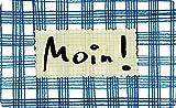 Frühstücksbrettchen 23 x 14 cm • 68081 ''Moin!'' von Inkognito • Künstler: INKOGNITO © Saskia Bach • Dies + Das • Küche & Frühstück • Frühstücksbrettchen • Frühstücksbrettchen