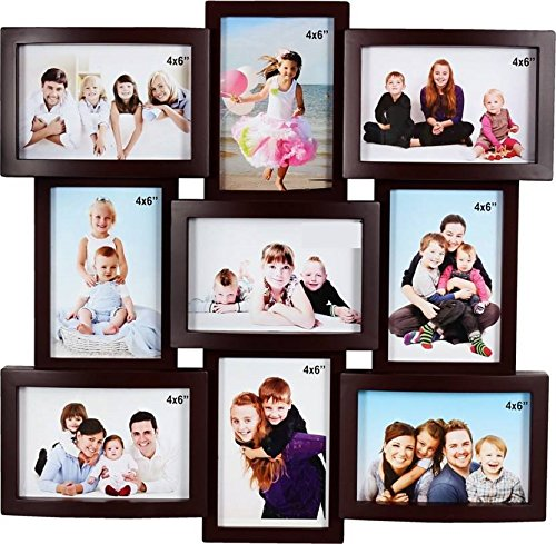 Jaipurcrafts Premium Collage Plastic Photo Frame (Photo Size - 4 X 6,...