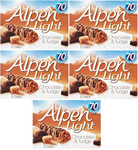 Alpen light buy alpen light products online in uae dubai abu alpen light chocolate fudge 5 bars of 95g pack of 5 aloadofball Image collections