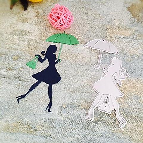 Scrapbooking Schablonen, SHOBDW Halloween Weihnachten New Flower Heart Metal Cutting Dies Stencils DIY Scrapbooking Album Paper Card Craft (D)