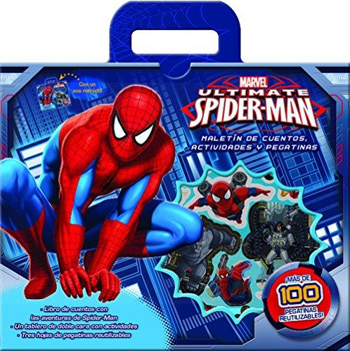 Spider-Man : maletín con cuento, actividades y pegatinas