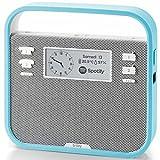 Triby - Enceinte Connectée Portable et Intelligente, Bleu