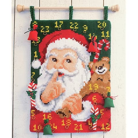 Vervaco - Kit per ricamare un calendario