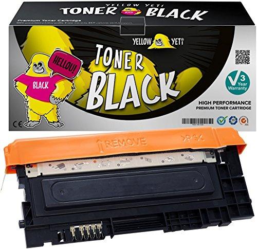 Yellow yeti clt-k404s nero 1500 pagine toner compatibile per samsung xpress sl-c430 c430w sl-c480 c480fn c480fw c480w [3 anni di garanzia]