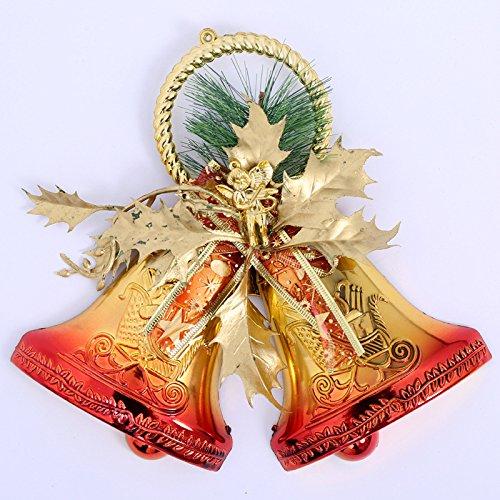 Natale Decorazioni Natale regali natale Bell Natale d'attaccatura accessori albero ornamenti