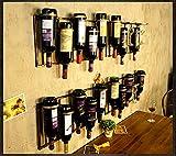 TLMY Arazzi appesi al muro della parete del ristorante della casa di attaccatura di vino d'annata dello scaffale Cremagliera del vino (dimensioni : D)