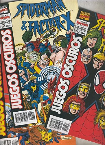 Spiderman Factor X: Juegos oscuros, coleccion