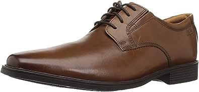 Clarks Tilden Plain Mens Lace-Up Derby Shoes